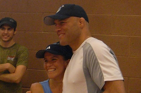 randy couture personal training