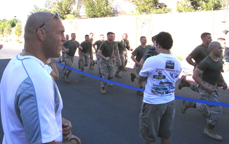 randy couture 5k marines cadence