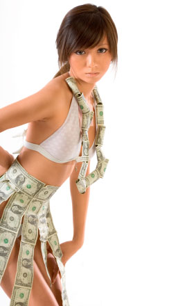 girl money